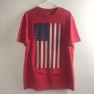 Well Worn Patriotic T Shirt